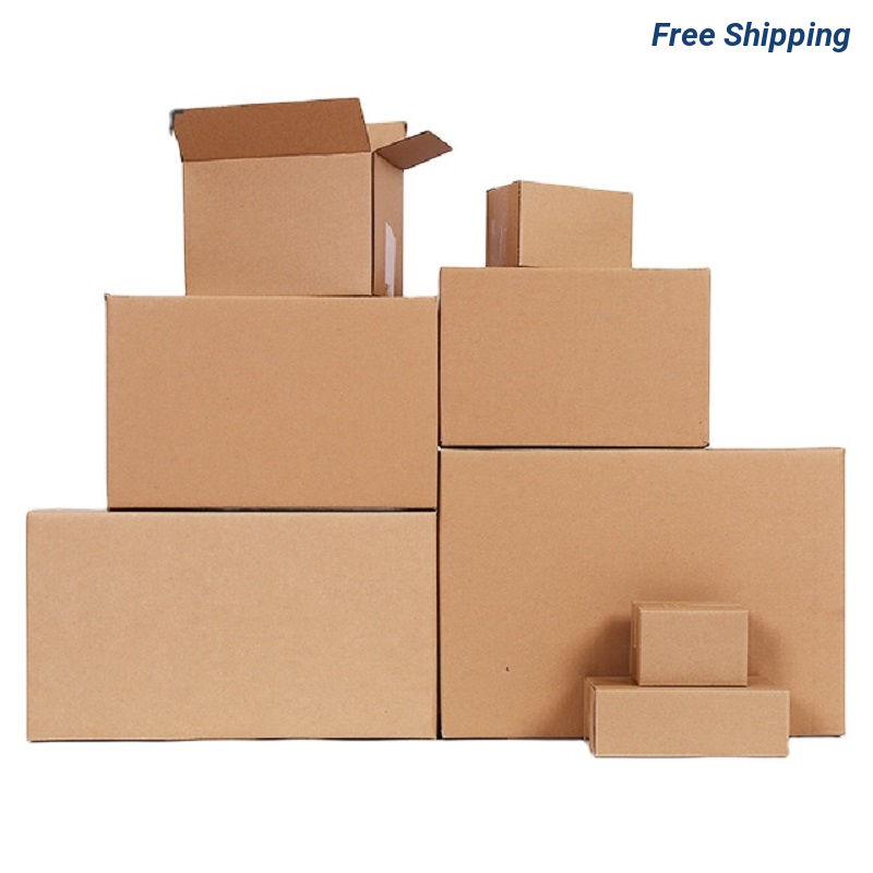 10 X 10 X 10 Inch Corrugated Boxes - Blank