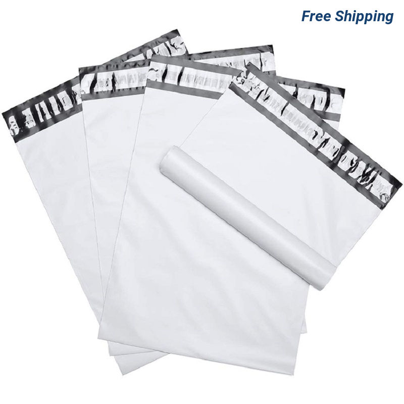 10 X 13 Inch Blank Poly Mailer Self-Sealing Shipping Bags