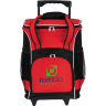 Red - Cooler, Coolers, Lunch, Lunch Bag, Insulated, Bag, Roller, Wheels, Cans