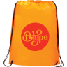 Orange - Backpacks; Bags; Drawstring;