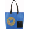 Royal Blue - Tote, Tote Bag, Bag, Bags, Business, Zipper, Handles, Convention, Pocket