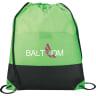 Lime Green - Bags, Bag, Drawstring, Drawstrings, Backpack, Cinch;