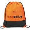 Orange - Bags, Bag, Drawstring, Drawstrings, Backpack, Cinch;