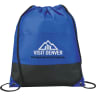 Royal Blue - Bags, Bag, Drawstring, Drawstrings, Backpack, Cinch;