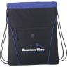 Blue - Backpacks; Bags; Drawstring;