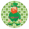 St. Patrick's Day #116921 - Beverage Coasters