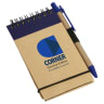 Think Green Recycled Notepad & Pen - Environmentally Friendly Products; Memo Pad & Paper Holders,  Recycled; Eco Friendly