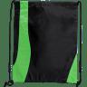 Black - Lime Green - Drawstring, Draw, String, Back, Backpack, Backpacks, Tote, Bags, Tote, Bag, Shopper, Shopping, Budget, Totebag, Totebags;