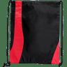 Black - Red - Drawstring, Draw, String, Back, Backpack, Backpacks, Tote, Bags, Tote, Bag, Shopper, Shopping, Budget, Totebag, Totebags;