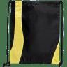 Black - Yellow - Drawstring, Draw, String, Back, Backpack, Backpacks, Tote, Bags, Tote, Bag, Shopper, Shopping, Budget, Totebag, Totebags;