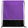 Black - Purple - Drawstring, Draw, String, Back, Backpack, Backpacks, Tote, Bags, Tote, Bag, Shopper, Shopping, Budget, Totebag, Totebags;