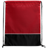 Black - Red - Drawstring, Draw, String, Back, Backpack, Backpacks, Tote, Bags, Tote, Bag, Shopper, Shopping, Budget, Totebag, Totebags;