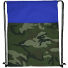 Camo - Blue - Custom Drawstring Bags