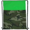 Camo - Lime Green - Drawstring Bags