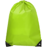 Lime Green - Drawstring Tote Bags