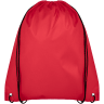 Red - Drawstring, Draw, String, Back, Backpack, Backpacks, Tote, Bags, Tote, Bag, Shopper, Shopping, Budget, Totebag, Totebags;