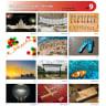 SET 09 -  Paper, Paper Calendar, 3 Month Calendar, 3 Months, 3 Months View