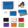 1 Dual Microfiber Cloth In Case - Cloth, Cleaning Cloth, Microfiber, Microfiber Cloth, Office Supplies, Computer Accessories, Eyeglass Cleaner, Phone Cleaner,