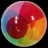 Frosted Beach ball -  Beach Balls