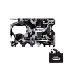 Black Camo with case - Credit Card Sized Tool, 18-in-1 Credit Card Tool, 18-in-1 Credit Card Sized Tool, Credit Card, Bottle Openers, Screw Driver, Can Opener, Cell Phone Stand, Camo