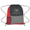 1 - Red - Backpacks; Bags-drawstring