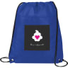 Blue - Cooler, Coolers, Lunch, Lunch Bag, Cinch, Drawstring