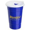 Blue Fiesta Plastic Cup -