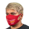 Full Color Soft Fabric Reusable Face Masks - Face Masks