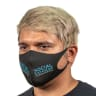 Full Color Soft Fabric Reusable Face Masks - Ppe
