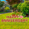 Pre-Packaged Happy Anniversary Yard Letters - Yard Letters