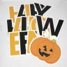 Pre-Packaged Happy Halloween Yard Letters - Halloween