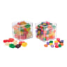 Cube Candy 4 Pack Set Jelly Beans and Gummy Bears - Gift Set