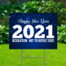 Happy New Year 2021 Yard Signs - Happy New Year