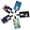 Custom Business Card Flip USB Flash Drives - Velocity