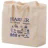 13 x 5 x 13 Inch Full Color Cotton Canvas Tote Bags - Budget Shopper