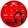 Mouse Pad Calendar 2021 #124192 - Computer Accessories, Mouse Pad, Calendar, Calendar Custom Made,