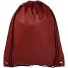 Burgundy - Custom Drawstring Bags