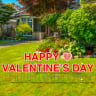 Happy Valentines Day Yard Letters - Valentines