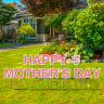 Pre-Packaged Happy Mother's Day Yard Letters - Mother's Day