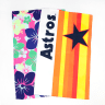 Fluorescent Custom Full Color Microfiber Rally Towel - Towels-general; Sports; Outdoors