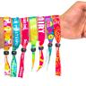 01Fluorescent Neon Full Color Cloth Wristbands - Fluorescent