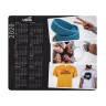 Full Color 2020 Calendar Rectangle Mouse Pads - Calendar