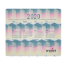 Full Color 2020 Calendar Rectangle Mouse Pads - Mouse Pad
