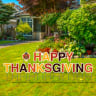 Happy Thanksgiving Yard Letters - Thanksgiving