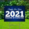 Happy New Year 2021 Yard Signs - Goodbye