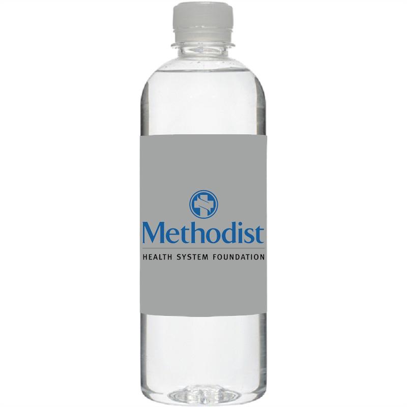 16.9 Oz Short Bullet Custom Label Bottled Water
