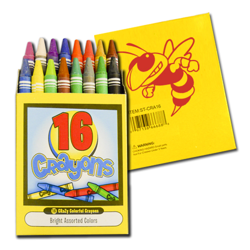 16 Pack Quality Crayons