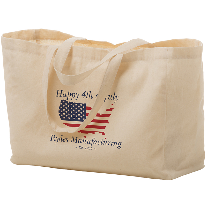 16 X 6 X 12 Inch Full Color Cotton Canvas Tote Bags