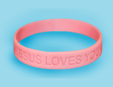 Jesus Loves You Wristbands