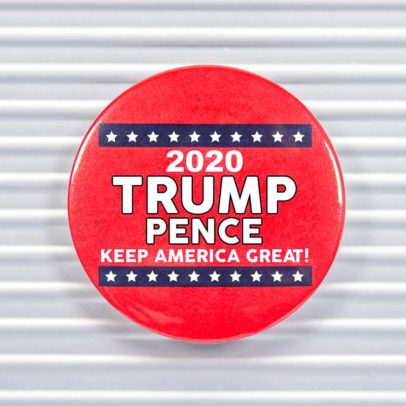2020 Trump Pence Pin Buttons